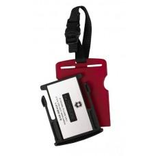 Identifikační štítek TRACKING ID TAG červený