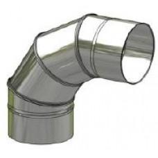 Koleno nerez regulovatelné ø 150 mm / 0 - 90° 4-segm