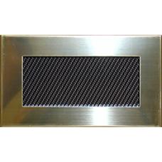 Krbová mřížka 185 x 100 leštěný mosaz PROBEX