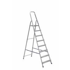 Hliníkové jednostranné schůdky 8 stupňů - 166 cm